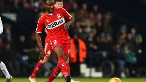 Jon Mikel Obi made 19 appearances for Middlesbrough scoring once during a six-month spell on Teesside
