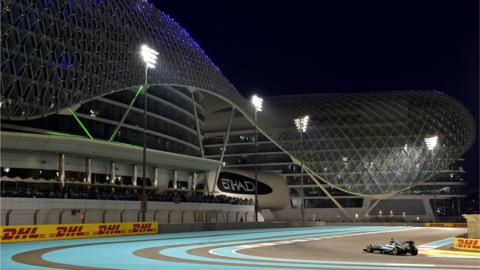 Abu Dhabi's Yas Marinas circuit