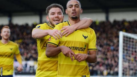 Alex MacDonald and Kemar Roofe