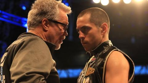 Quigg moved to the US to work with trainer Freddie Roach last year