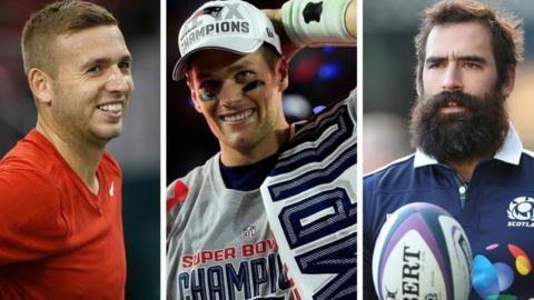 Dan Evans, Tom Brady & Josh Strauss