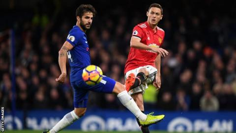 Cesc Fabregas and Nemanja Matic