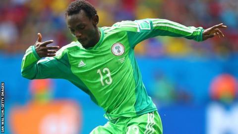 Nigeria international defender Juwon Oshaniwa