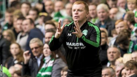 Hibs head coach Neil Lennon