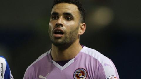 Reading striker Hal Robson-Kanu