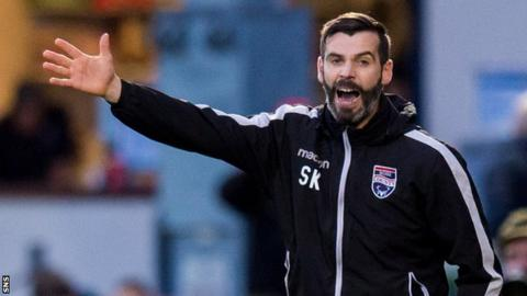 Ross County co-manager Stuart Kettlewell