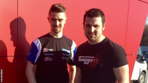 Carl Phillips and Michael Dunlop