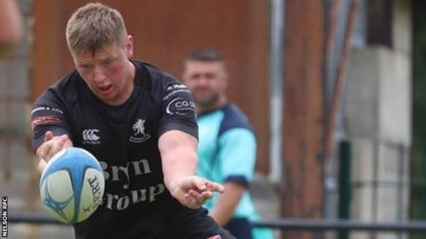 Former Dragons age-group player Owen Bennett had recently joined Nelson from Caerphilly