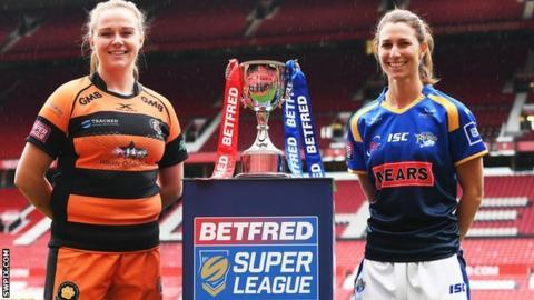 Women's Super League Grand Final: Leeds Rhinos v Castleford Tigers