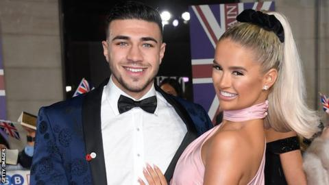 Tommy Fury and Molly Mae Hague