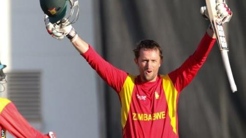 Craig Ervine guided Zimbabwe to victory in Harare
