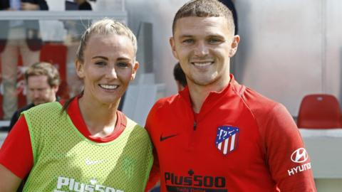 Toni Duggan and Kieran Trippier