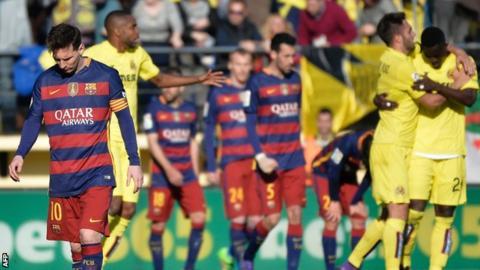 Barcelona held at Villarreal