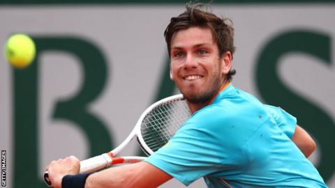 Pouille edges out Norrie at Roland Garros