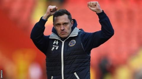 Shrewsbury's 2-0 win at Charlton on Saturday was a 10th away league victory for Paul Hurst's side