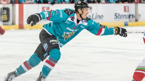 Michael Forney scored Belfast's opening goal just 16 seconds into the second period