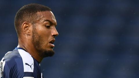 Kenneth Zohore scored his first goal for West Bromwich Albion after joining from Cardiff City in July