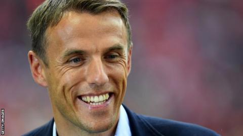 Phil Neville: England women head coach sorry for controversial tweets
