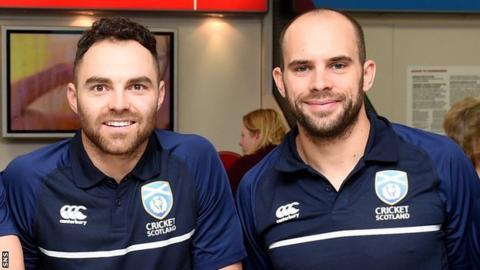 Preston Mommsen (left) and Kyle Coetzer (right)