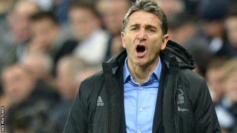 Philippe Montanier as Nottingham Forest boss