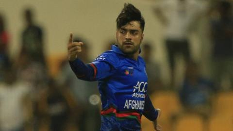 Zazai's 162 leads Afghanistan to record T20I total