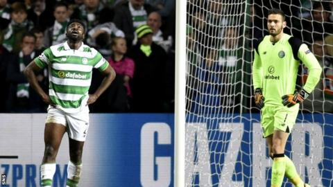 Kolo Toure (left) and Craig Gordon