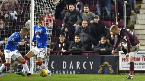 'No panic' at Rangers after defeat to Hearts - Gary McAllister