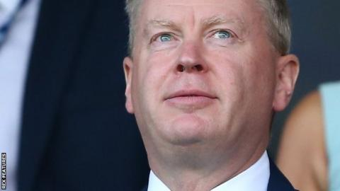West Bromwich Albion chief executive Mark Jenkins