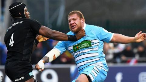 Maro Itoje returns from injury for Saracens' Champions Cup quarter-final