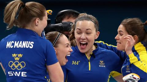 Sweden curling team