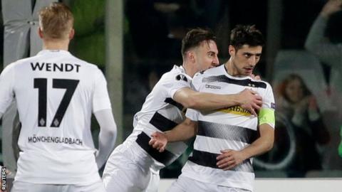 Borussia Monchengladbach reach Europa League last 16