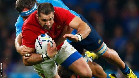 France's Scott Spedding