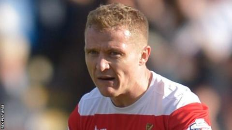 Doncaster Rovers winger Gary McSheffrey