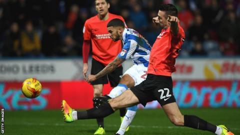 Huddersfield striker Nahki Wells