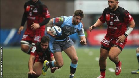 Lewis Jones made his regional debut in 2011 and became the youngest Cardiff Blues player to reach 50 appearances two seasons later