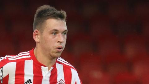 Donald Love made four appearances for Sunderland in League One last season
