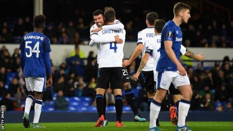 Woeful Everton thrashed at home by Atalanta