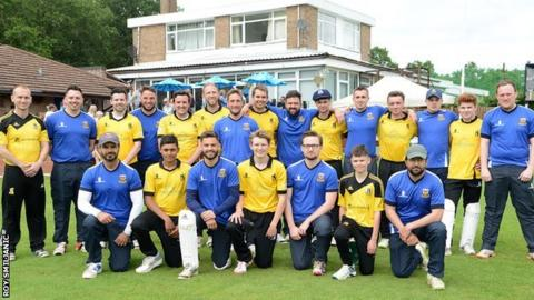 Solihull Blossomfield and Knowle & Dorridge were two of the 10 teams involved on the opening weekend of the Warwickshire Sunday Smash