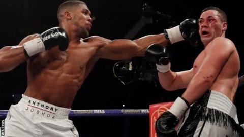 Anthony Joshua beats Joseph Parker on points to add WBO ...