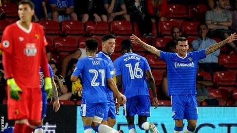 Gillingham striker Bradley Dack