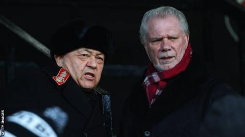 West Ham co-chairmen David Sullivan and David Gold