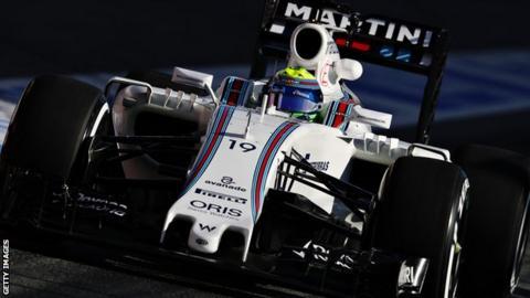 Felipe Massa of Williams