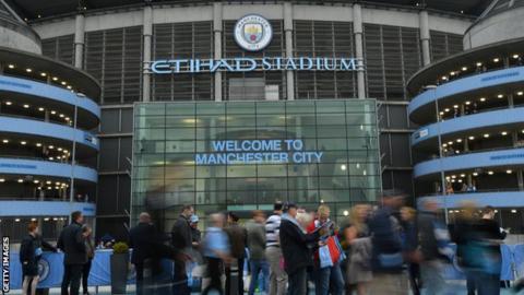 Man City stadium general view