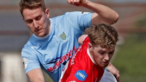 Coleraine remain sixth after losing away to Ballymena