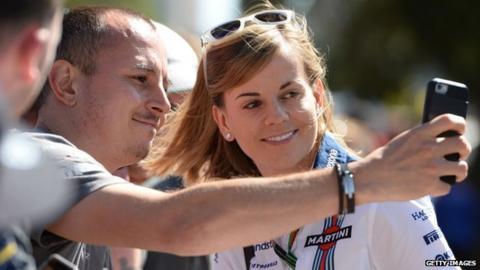 Former F1 test driver Susie Wolff