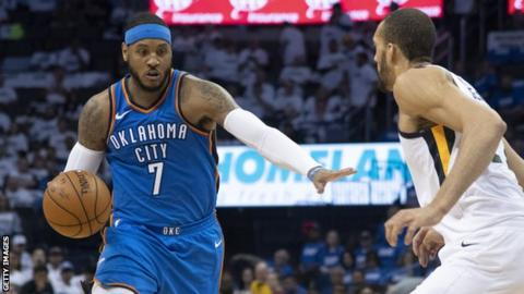 Carmelo Anthony  Houston Rockets sign 10-time NBA All Star - BBC Sport 660f88b17
