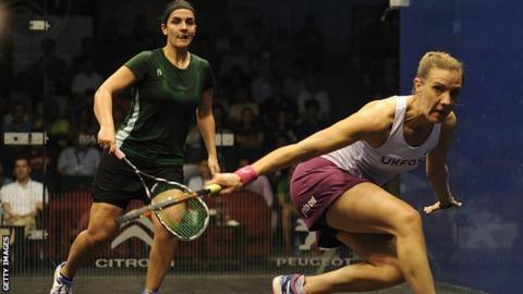 Omneya Abdel Kawy and Laura Massaro