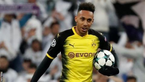 lowest price 4fe76 ee6cd Pierre-Emerick Aubameyang: Borussia Dortmund striker dropped ...