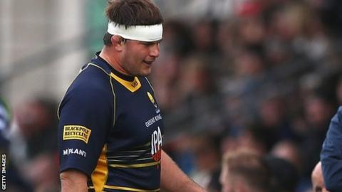 Ryan Bower's season ended prematurely in November with a ruptured Achilles tendon injury in the Premiership Cup match against Saracens at Sixways