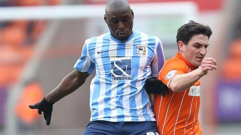 Marc-Antoine Fortune netted his first goal for the Sky Blues since 14 November